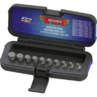 Vim Products IMPACT-VM6 Vim Tools 10-piece Half Cut Impact Metric Hex Set 3/8 In. Square Drive
