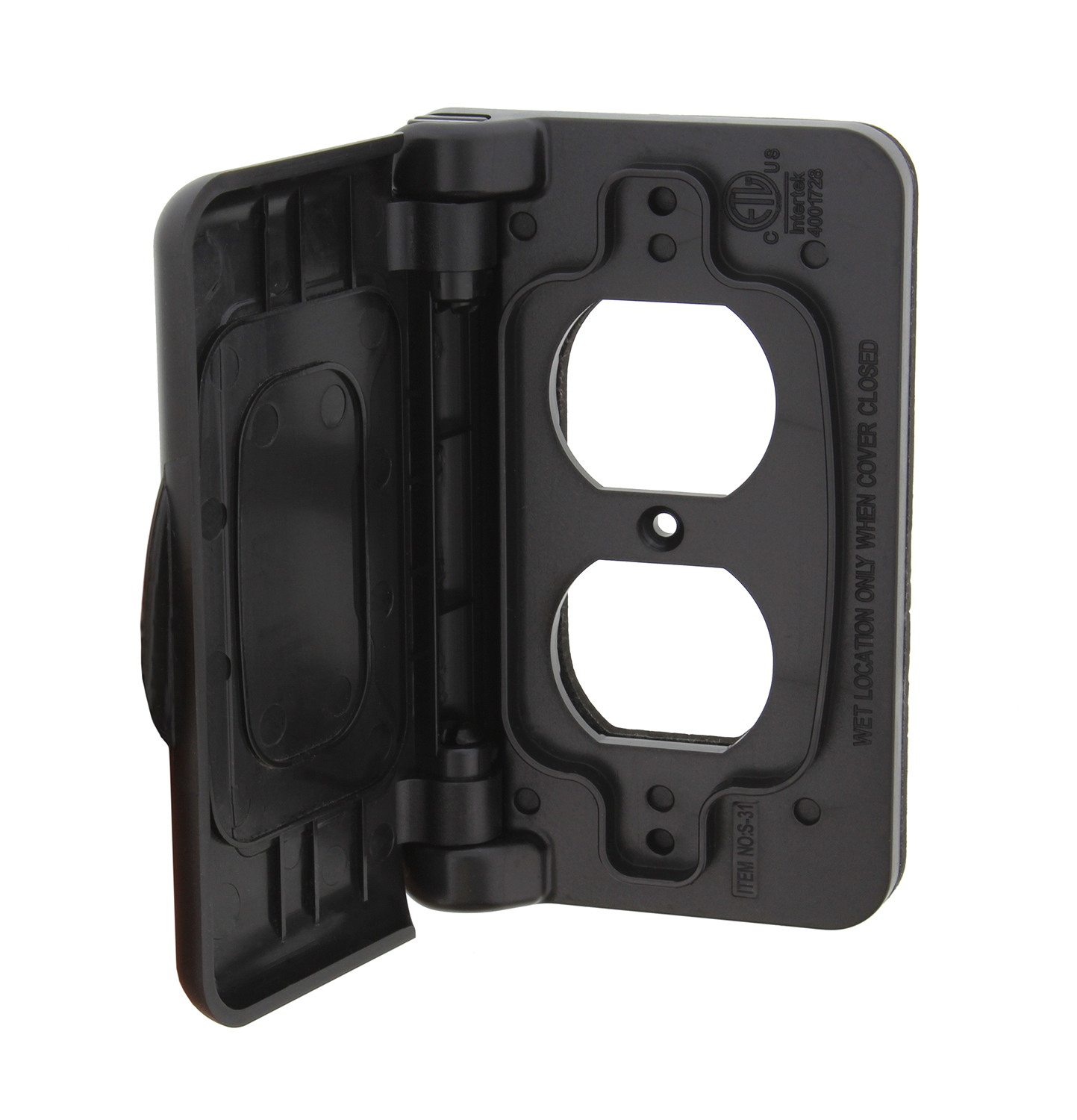 Abn Weatherproof Receptacle Cover For Rv Outdoor Electrical Outlet