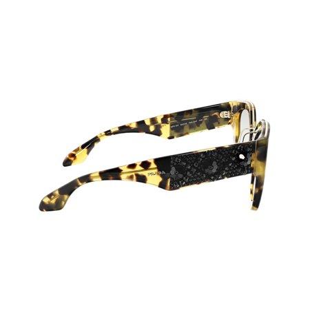 Prada Women's Gradient Minimal Baroque PR10TS-7S00A7-52 Brown Cat Eye Sunglasses - image 2 of 3