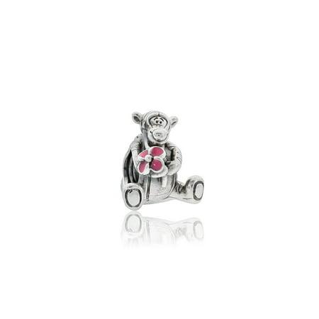 Authentic Disney, Tigger Charm, Pink Enamel - Pink Enamel Charm