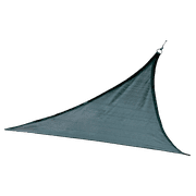 Shade Sail Triangle - Heavyweight (Attachment point/pole not included) 12 x 12 ft. Sea Blue