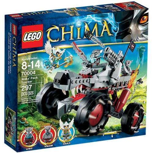 LEGO Legends of Chima Wakz' Pack Tracker Set #70004