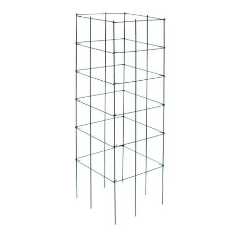 Panacea 7064793 46 x 12 in. Black Steel Tomato Cage, Pack of 25
