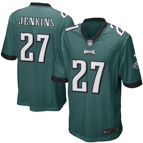Malcolm Jenkins Philadelphia Eagles Youth Nike Team Color Game Jersey - Green