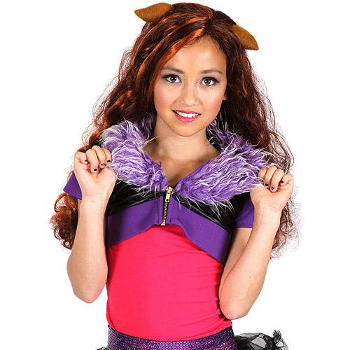 Monster High Shrug, Purple Clawdeen