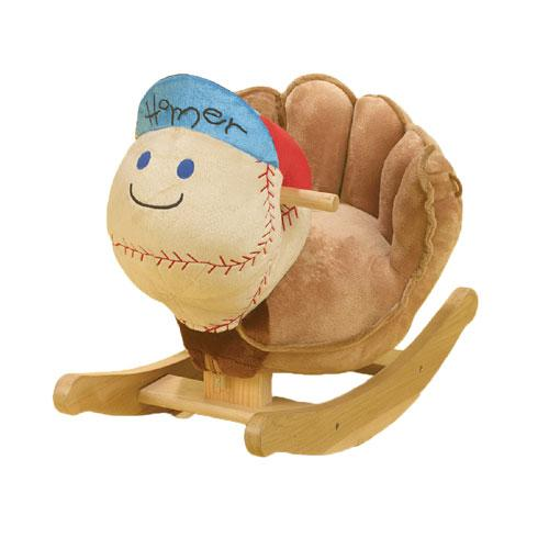 Charming Rockabye 85021 Homer Baseball Rocking Toy