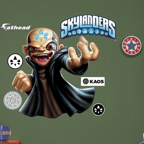 Fathead Skylanders Activision - Kaos Peel and Stick Wall Decal