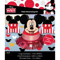 Mickey Mouse Birthday Party Table Decorating Kit