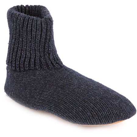 Mens Morty Knit Slipper Socks Walmart