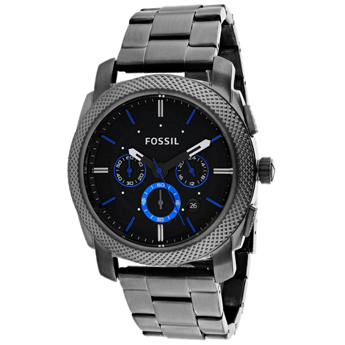 Fossil Men's Machine Chronograph Watch Quartz Mineral Crystal FS4931