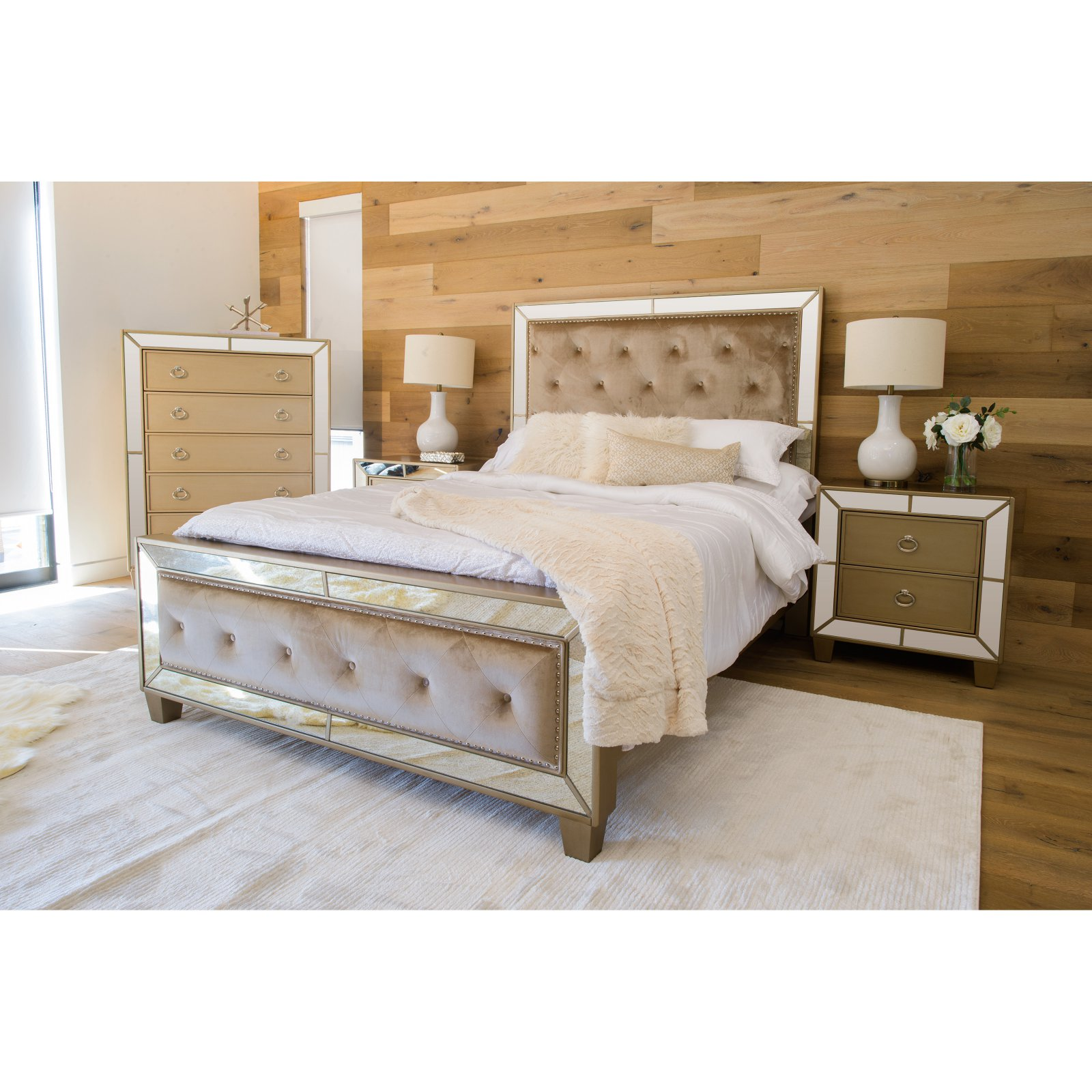 Abbyson Living Celine Bedroom Furniture Set (Assorted Sizes)