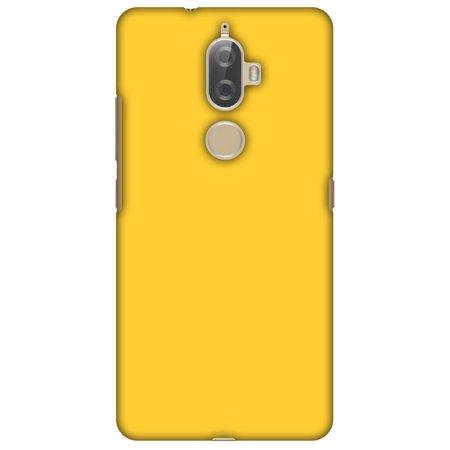 Lenovo K8 Plus Case, Premium Handcrafted Designer Hard Shell Snap On Case Printed Back Cover with Screen Cleaning Kit for Lenovo K8 Plus, Slim, Protective - Bumblebee Yellow