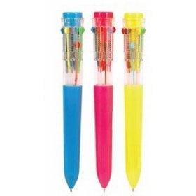 NINGBO Ten Color Retractable Pen - Retro - Retro Novelties