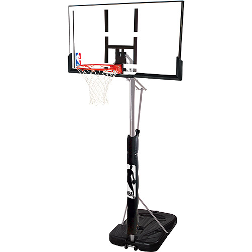 "Spalding 72307PR 52"" Acrylic Portable Basketball System"