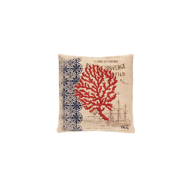 Heritage Lace NW2NA-0885 18 x 18 in. Coral Coast Pillow Cover by Heritage Lace