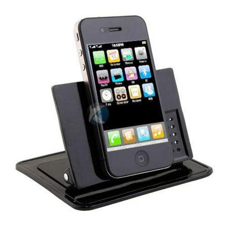 Car Non-Slip Dash-board Holder Stand Mount Desktop Phone Dock Cradle Black W5N Compatible With ASUS ZenFone Max Plus M1, ROG Phone, AR 5z 5Q 4 Pro 3 Max - Blackberry Key2 LE