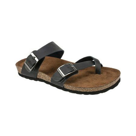 Women's White Mountain Gracie Toe Loop Sandal (White Jordan Sandals)