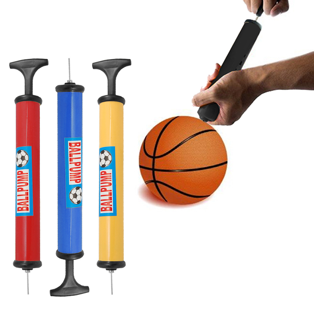 24 Lot Hand Air Pump Sports Ball Inflator Football Basketball Needles Volleyball