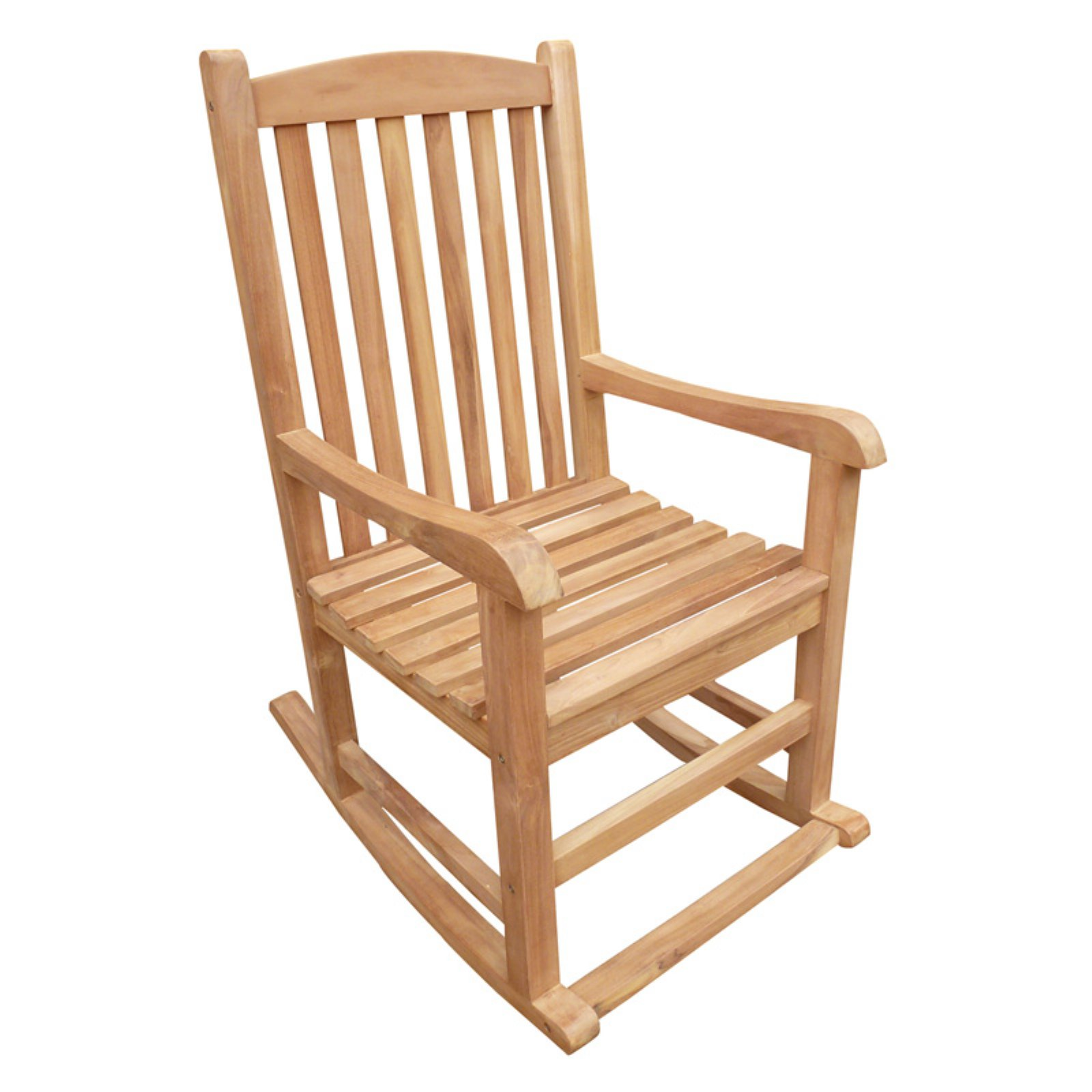 Seven Seas Teak Patio Rocking Chair