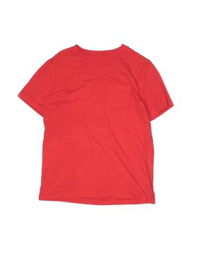 Pre-Owned Lands' End Boy's Size M Youth Short Sleeve T-Shirt