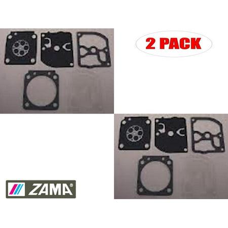 Zama 2 Pack GND-71 Carb Gasket & Diaphragm Kits - image 1 of 1