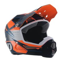 6D Helmets 2019 Youth ATR-1Y Avenger Offroad Helmet - Neon Orange - Youth X-Large