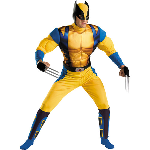 Wolverine Classic Muscle Adult Halloween Costume