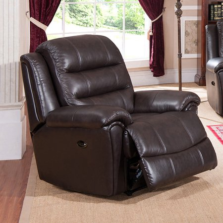 Image of Amax Astoria Leather Power Recliner