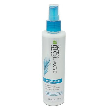 Biolage Advanced Keratindose Pro-Keratin + Silk Renewal Spray, By Matrix - 6.7 Oz Renewal