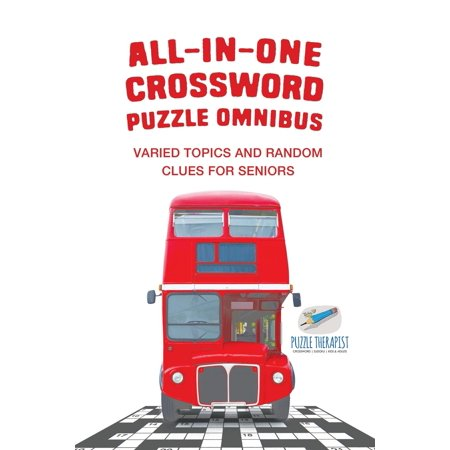 Halloween Wear Crossword Clue (All-in-One Crossword Puzzle Omnibus Varied Topics and Random Clues for Seniors)