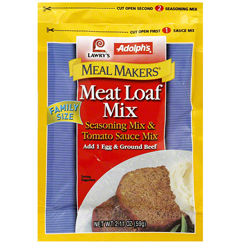 Adolph's Meat Loaf Mix, 2.11 oz (Pack of 6)