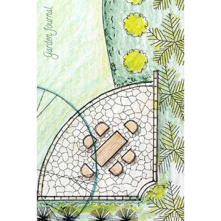 Garden Journal: Landscape Design Plan Gardening Journal, Lined Journal, Diary Notebook 6 X 9, 180 Pages