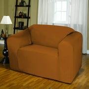 Kashi Home Jersey Box Cushion Loveseat Slipcover