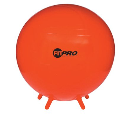 Champion Sports 75 cm Fitpro Ball With Stability Legs