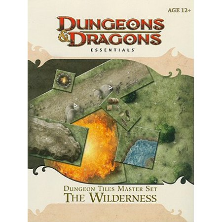 Dungeon Tiles Master Set - The Wilderness : An Essential Dungeons & Dragons Accessory ()