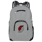 NBA Portland Trailblazers Gray Premium Laptop Backpack