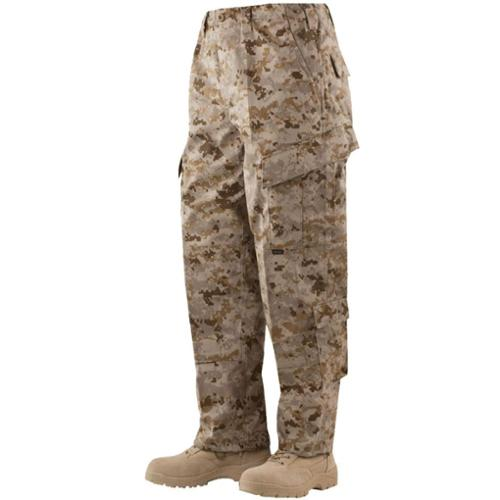 TRU Trousers Desert Digital 65/35 Poly, Cotton Rip-Stop, Small Short