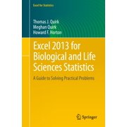 Excel 2013 for Biological and Life Sciences Statistics - eBook