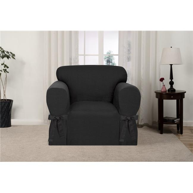 Madison GAR-CH-CHL Kathy Ireland Garden Retreat Chair Slipcover, Charcoal