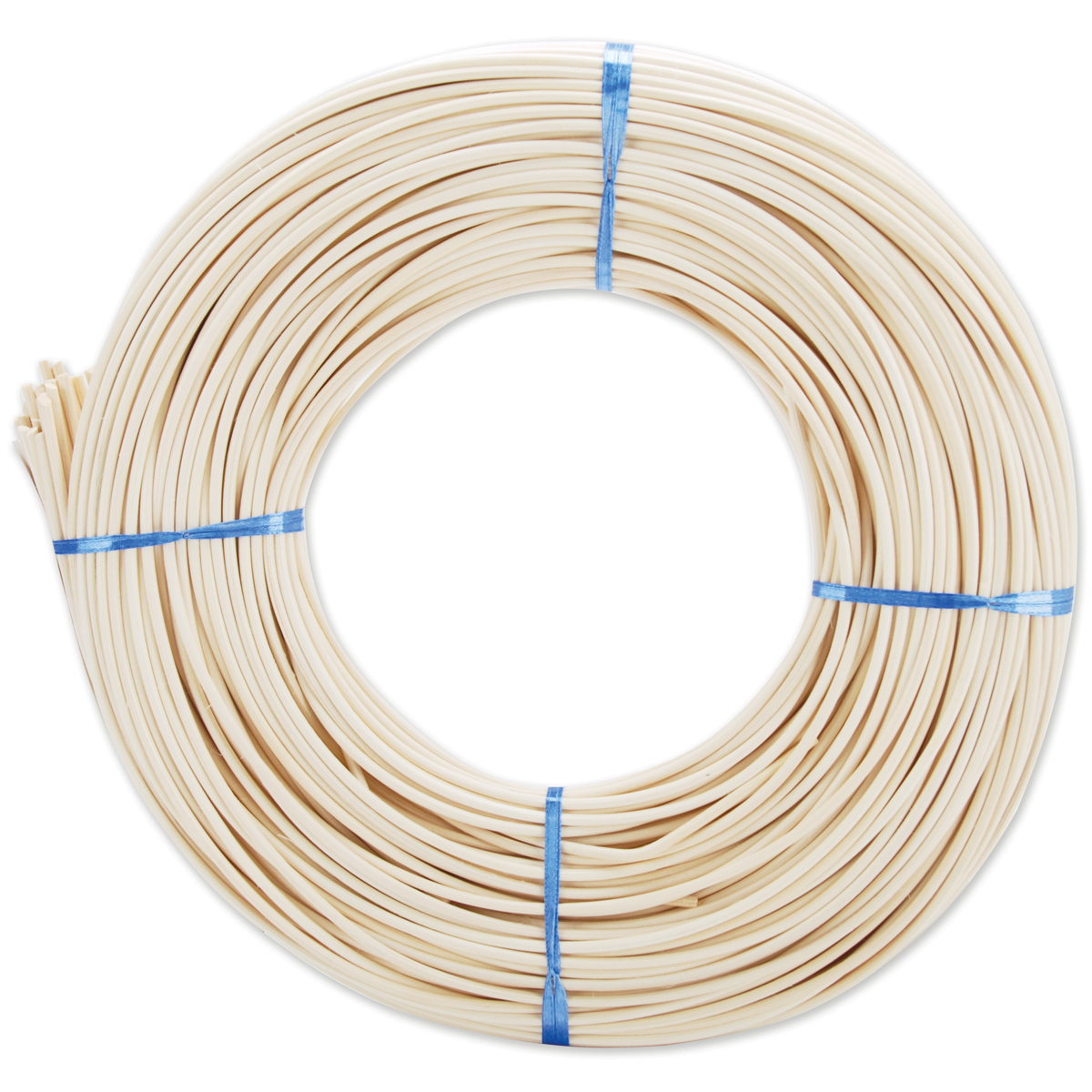 Commonwealth Basket Round Reed #3 2.25 mm 1 lb Coil-750 feet Approximately 750