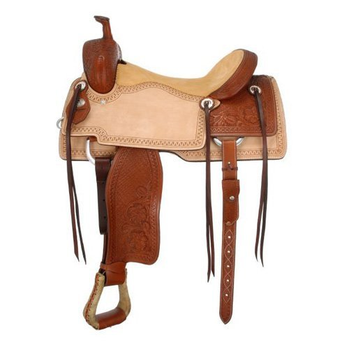 Silver Royal Coyote Cutter Saddle