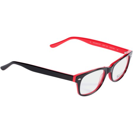 4885599fad8  58 Pomy Eyewear Rx-able Eyeglass Frames 315 Black Red