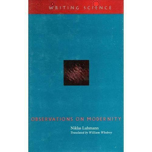 Observations on Modernity