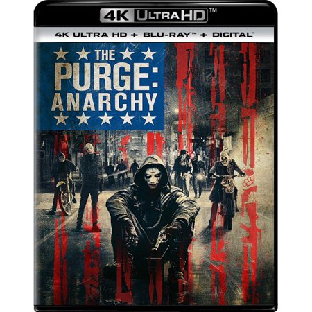 The Purge: Anarchy (4K Ultra HD + Blu-ray + Digital Copy) - The Purge Couple