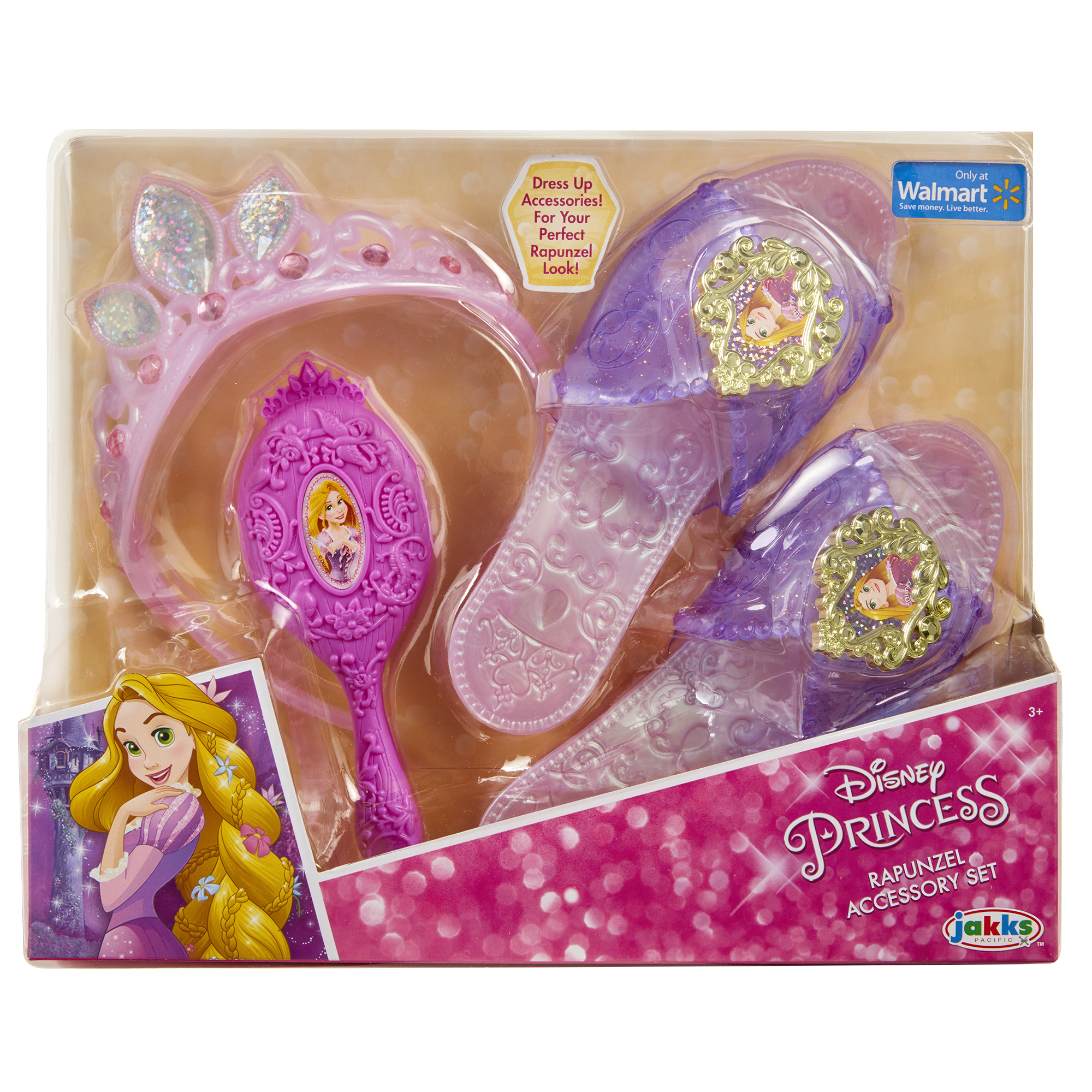 Disney Princess Rapunzel Deluxe Accessory Set by Jakks Pacific
