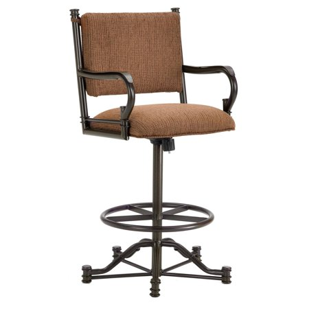 Barrington Home Baltimore Tilt Swivel Counter Stool with Arms ()