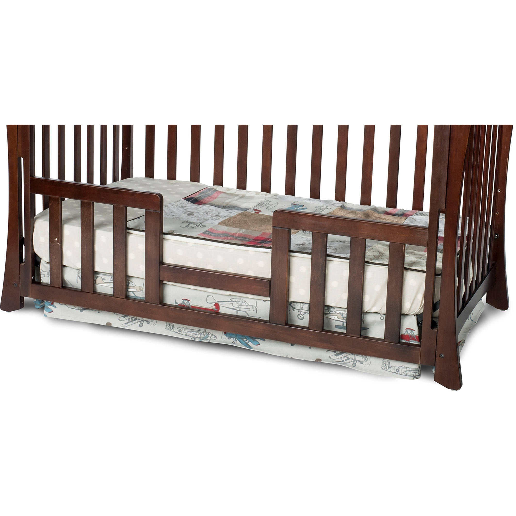 toddler emerald kids lind w stationary rail jenny crib coast with guard west davinci
