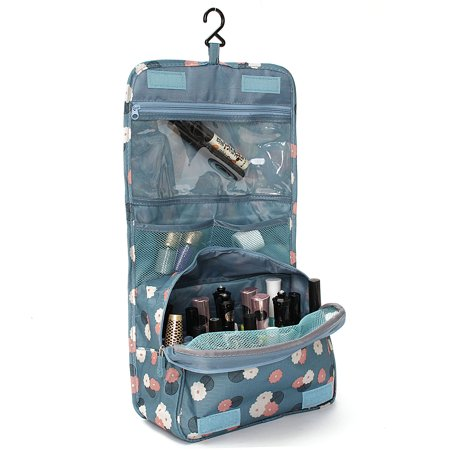 Portable Hanging Toiletry Bag/ Portable Travel Organizer Carry Tote Cosmetic Bag for Women Makeup or Men Shaving Kit with Hanging Hook for vacation  - image 4 of 6