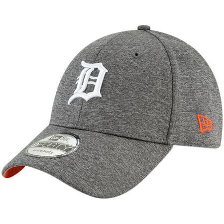 sale retailer d5f5a 2373d Detroit Tigers New Era Shadow Side 9FORTY Adjustable Hat - Graphite - OSFA  - Walmart.com