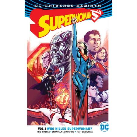 Superwoman Vol. 1: Who Killed Superwoman? (Rebirth) - Superwoman Cape